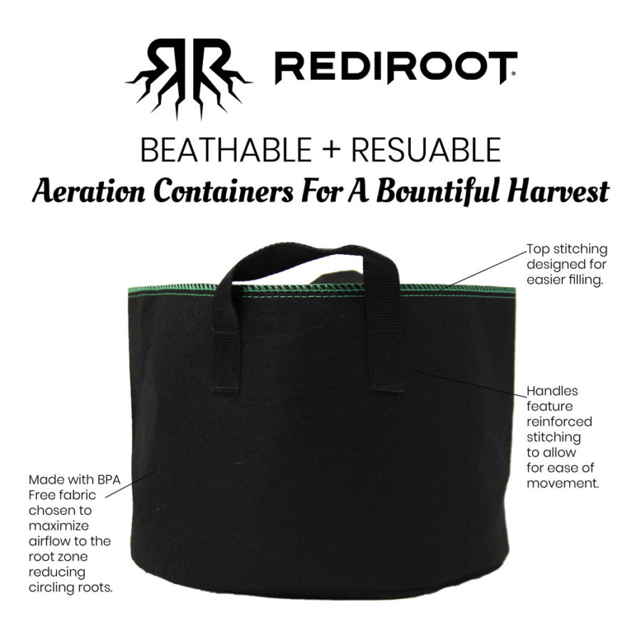 Icon for RediRoot fabric pots environmental policy