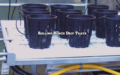 Rolling Bench Drip Trays