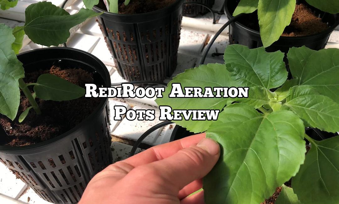 Repost: RediRoot Aeration Pots Review